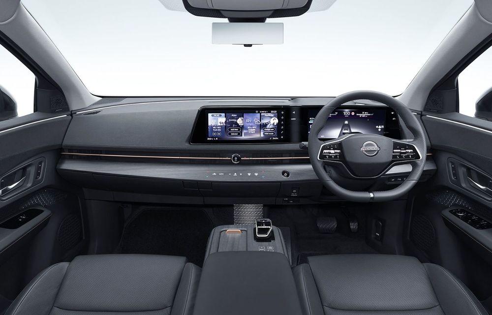 Nissan a prezentat noul Ariya: primul crossover coupe electric al companiei va avea cinci versiuni și autonomie de până la 500 de kilometri - Poza 30