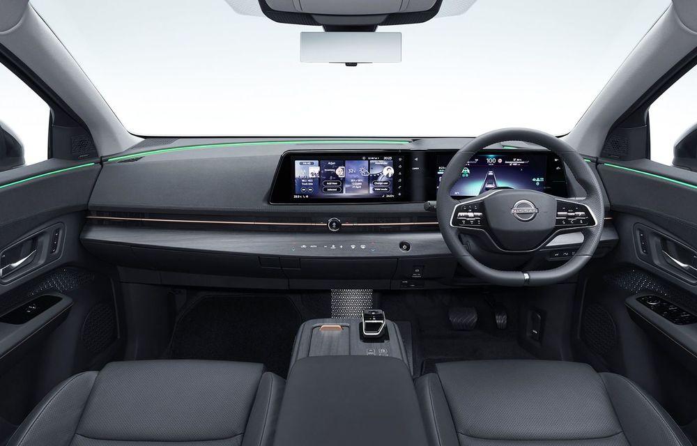 Nissan a prezentat noul Ariya: primul crossover coupe electric al companiei va avea cinci versiuni și autonomie de până la 500 de kilometri - Poza 32