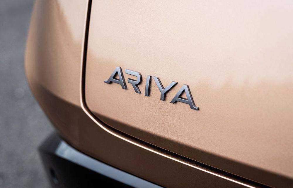 Nissan a prezentat noul Ariya: primul crossover coupe electric al companiei va avea cinci versiuni și autonomie de până la 500 de kilometri - Poza 23