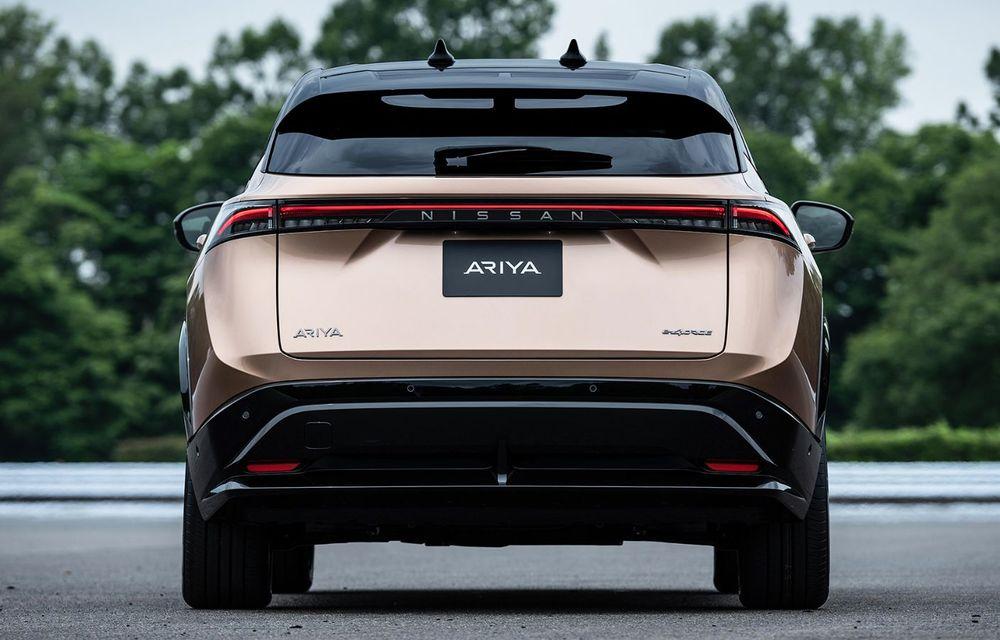 Nissan a prezentat noul Ariya: primul crossover coupe electric al companiei va avea cinci versiuni și autonomie de până la 500 de kilometri - Poza 7