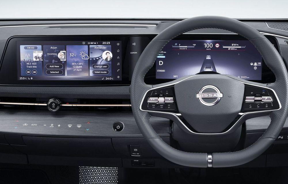 Nissan a prezentat noul Ariya: primul crossover coupe electric al companiei va avea cinci versiuni și autonomie de până la 500 de kilometri - Poza 34