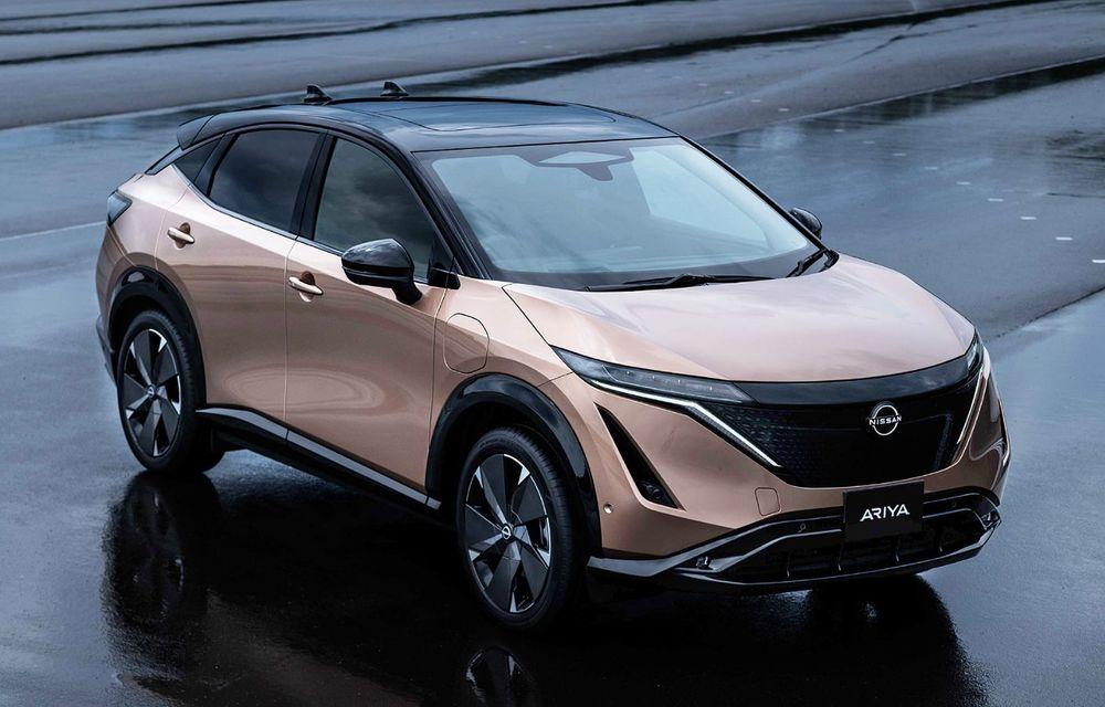 Nissan a prezentat noul Ariya: primul crossover coupe electric al companiei va avea cinci versiuni și autonomie de până la 500 de kilometri - Poza 3