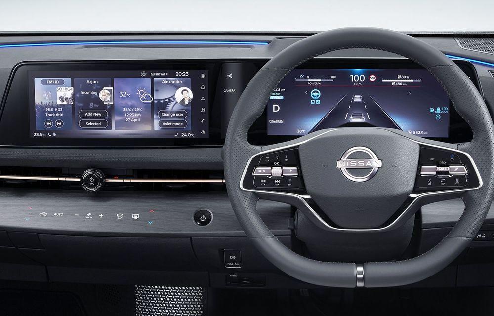 Nissan a prezentat noul Ariya: primul crossover coupe electric al companiei va avea cinci versiuni și autonomie de până la 500 de kilometri - Poza 35