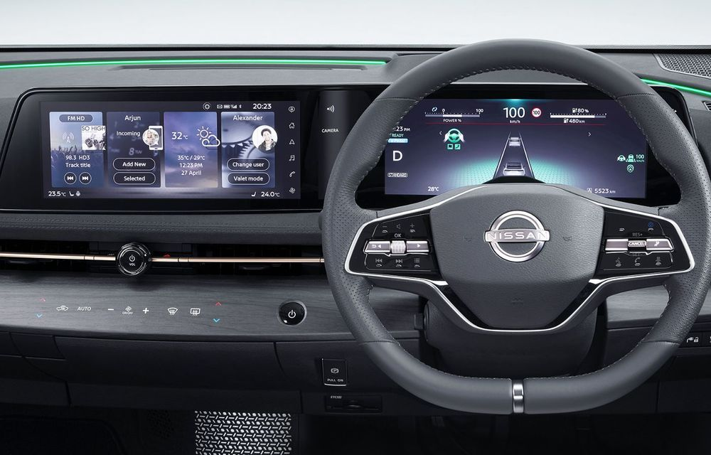 Nissan a prezentat noul Ariya: primul crossover coupe electric al companiei va avea cinci versiuni și autonomie de până la 500 de kilometri - Poza 36