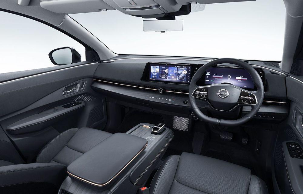 Nissan a prezentat noul Ariya: primul crossover coupe electric al companiei va avea cinci versiuni și autonomie de până la 500 de kilometri - Poza 33