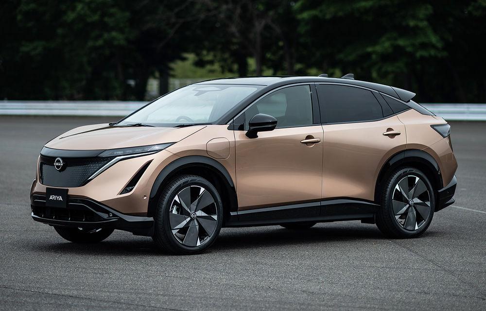 Nissan a prezentat noul Ariya: primul crossover coupe electric al companiei va avea cinci versiuni și autonomie de până la 500 de kilometri - Poza 1