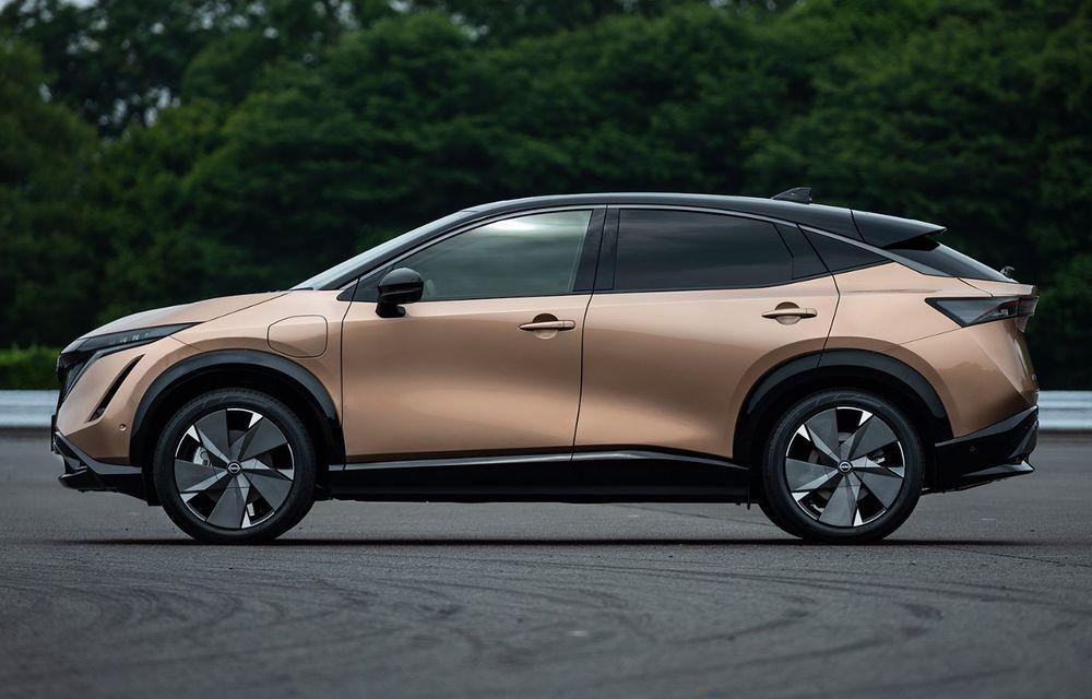 Nissan a prezentat noul Ariya: primul crossover coupe electric al companiei va avea cinci versiuni și autonomie de până la 500 de kilometri - Poza 12