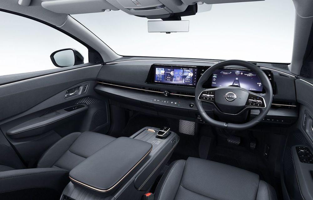 Nissan a prezentat noul Ariya: primul crossover coupe electric al companiei va avea cinci versiuni și autonomie de până la 500 de kilometri - Poza 39