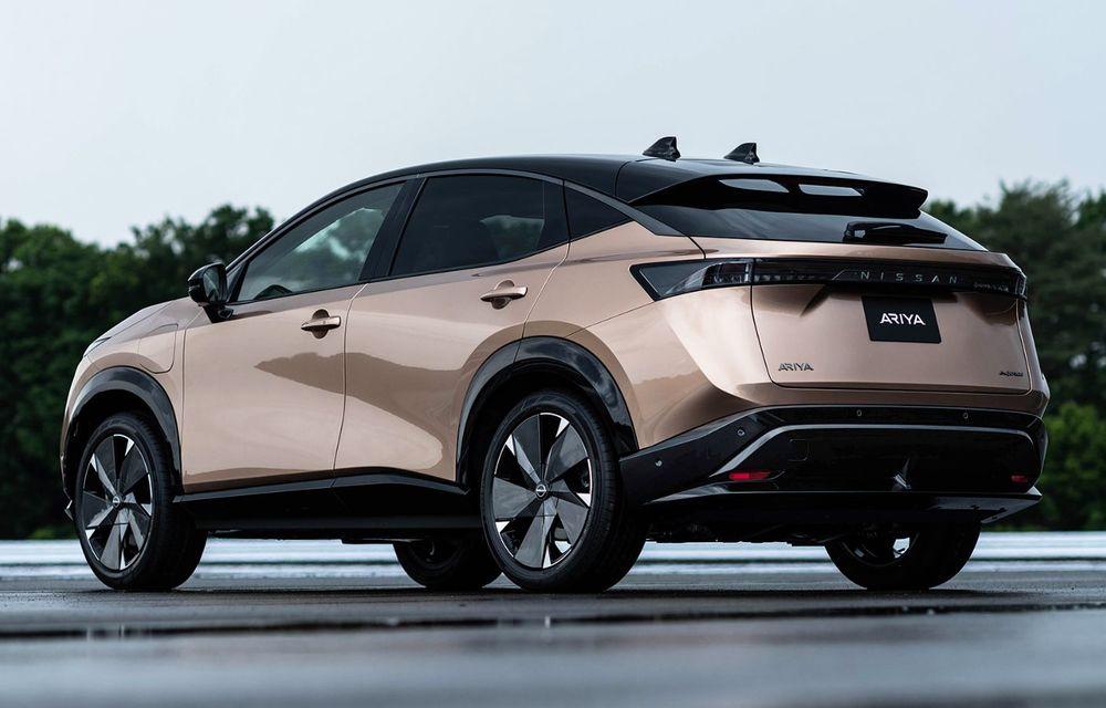 Nissan a prezentat noul Ariya: primul crossover coupe electric al companiei va avea cinci versiuni și autonomie de până la 500 de kilometri - Poza 9