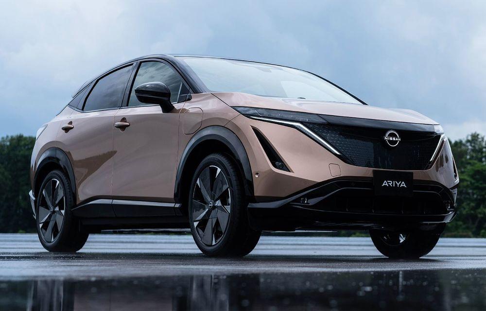 Nissan a prezentat noul Ariya: primul crossover coupe electric al companiei va avea cinci versiuni și autonomie de până la 500 de kilometri - Poza 4