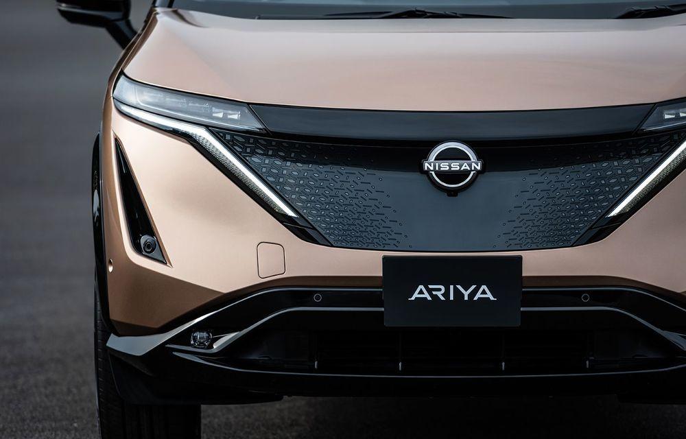 Nissan a prezentat noul Ariya: primul crossover coupe electric al companiei va avea cinci versiuni și autonomie de până la 500 de kilometri - Poza 17