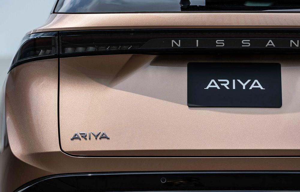 Nissan a prezentat noul Ariya: primul crossover coupe electric al companiei va avea cinci versiuni și autonomie de până la 500 de kilometri - Poza 22