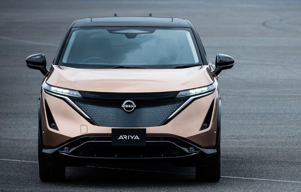 Nissan a prezentat noul Ariya: primul crossover coupe electric al companiei va avea cinci versiuni și autonomie de până la 500 de kilometri - Poza 2
