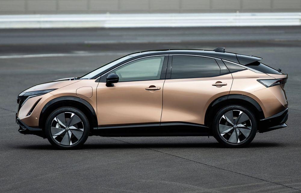 Nissan a prezentat noul Ariya: primul crossover coupe electric al companiei va avea cinci versiuni și autonomie de până la 500 de kilometri - Poza 11