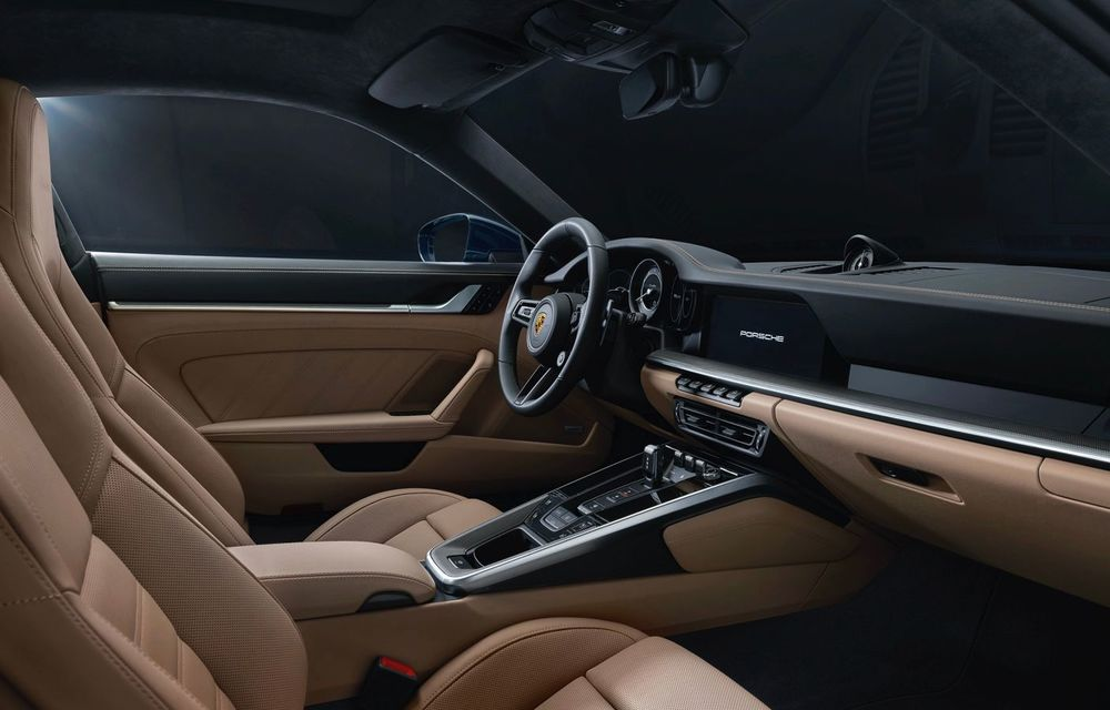 Porsche a prezentat noul 911 Turbo: 580 de cai putere și 0-100 km/h în doar 2.8 secunde - Poza 12