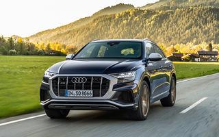 Audi introduce un motor V8 pe benzină pentru SUV-urile SQ7 și SQ8: 507 cai putere și 4.1 secunde pentru 0-100 km/h