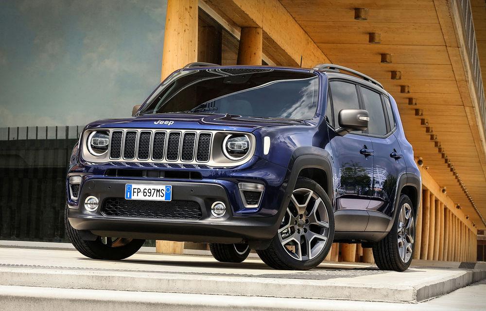 Jeep pregătește modelele Renegade și Compass cu versiuni plug-in hybrid: prezentare în 20 iulie - Poza 1