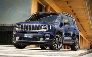 Jeep pregătește modelele Renegade și Compass cu versiuni plug-in hybrid: prezentare în 20 iulie