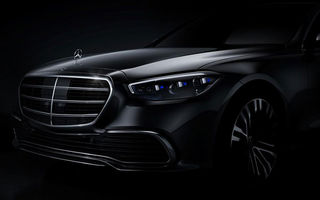 Detalii despre noua generație Mercedes-Benz Clasa S: modelul va avea modificări minore de design