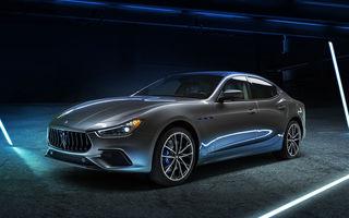 Maserati a prezentat Ghibli facelift: modelul italian este disponibil în variantă mild-hybrid cu 330 CP