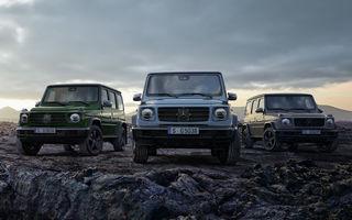 Îmbunătățiri pentru Mercedes-Benz Clasa G: mai multe echipamente standard și personalizări suplimentare