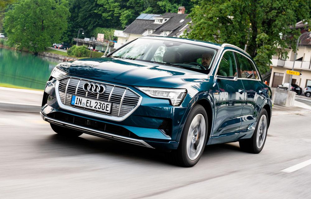 Performanțe pentru Audi e-tron: cel mai vândut SUV electric în Europa și cea mai vândută mașină în Norvegia în primele 6 luni - Poza 1