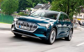 Performanțe pentru Audi e-tron: cel mai vândut SUV electric în Europa și cea mai vândută mașină în Norvegia în primele 6 luni