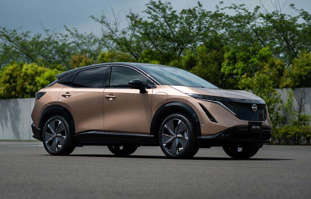 """Marco Fioravanti (Nissan) despre Ariya, primul SUV electric al mărcii: """"Model născut din cele mai bune lucruri pe care știm să le facem: SUV-uri și mașini electrice"""" - Poza 1"""