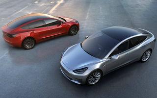 Studiu: Tesla Model 3 își păstrează 90% din valoare după 3 ani, în timp ce media pentru mașinile electrice este de 41%