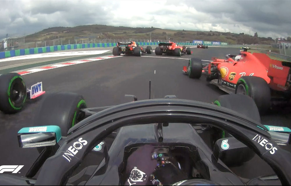 Hamilton a câștigat cursa de Formula 1 din Ungaria! Verstappen termină pe podium în fața lui Bottas după un start excelent - Poza 3