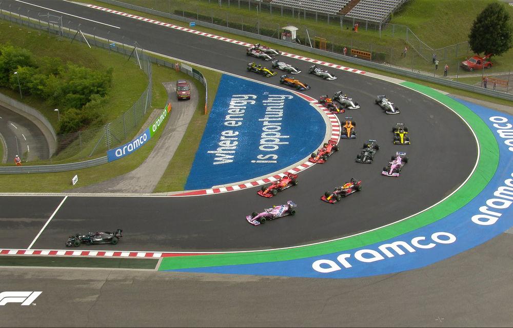 Hamilton a câștigat cursa de Formula 1 din Ungaria! Verstappen termină pe podium în fața lui Bottas după un start excelent - Poza 5