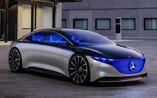 Mercedes-Benz EQS va avea autonomie de peste 700 de kilometri: sedanul electric va depăși autonomia principalului rival, Tesla Model S