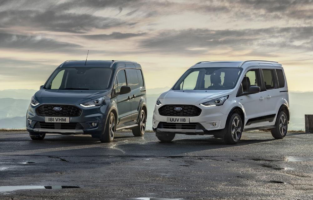 Ford Tourneo Connect și Transit Connect primesc versiune de echipare Active: gardă la sol mai ridicată și bare de protecție îmbunătățite - Poza 1