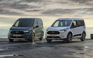 Ford Tourneo Connect și Transit Connect primesc versiune de echipare Active: gardă la sol mai ridicată și bare de protecție îmbunătățite
