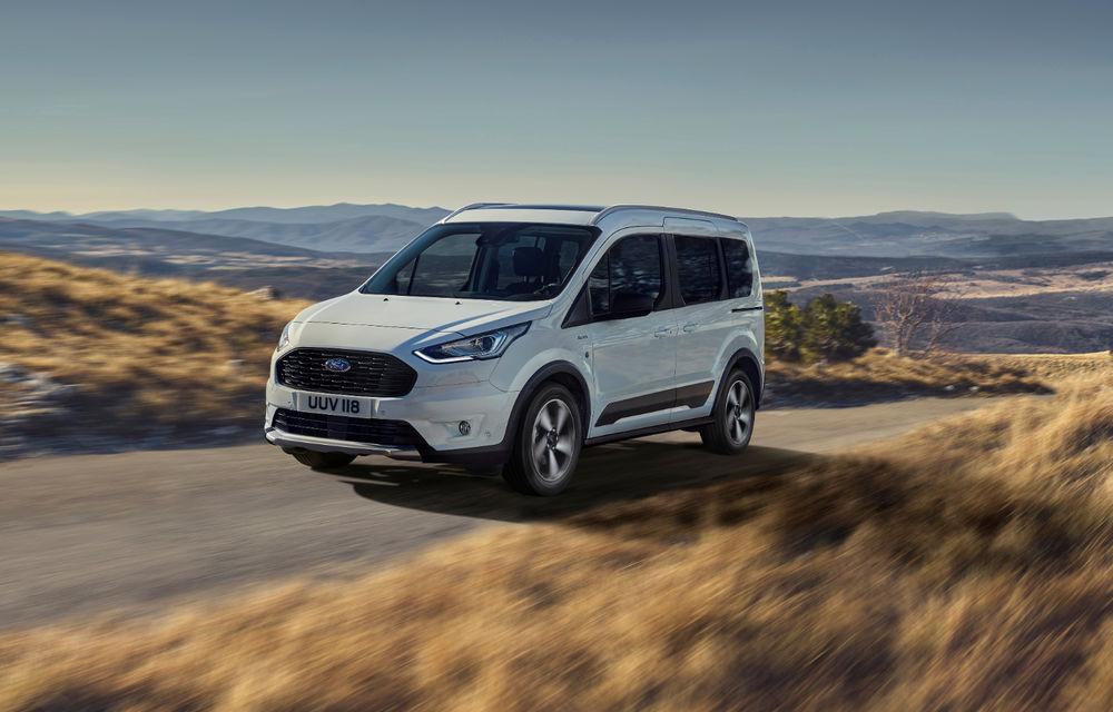 Ford Tourneo Connect și Transit Connect primesc versiune de echipare Active: gardă la sol mai ridicată și bare de protecție îmbunătățite - Poza 2