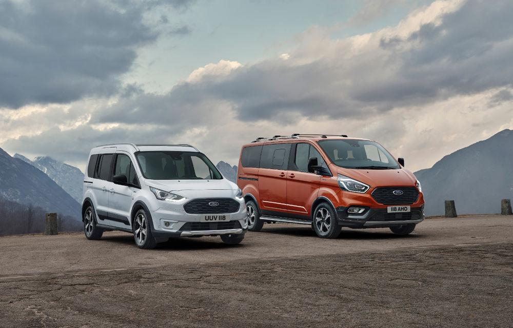 Ford Tourneo Connect și Transit Connect primesc versiune de echipare Active: gardă la sol mai ridicată și bare de protecție îmbunătățite - Poza 11