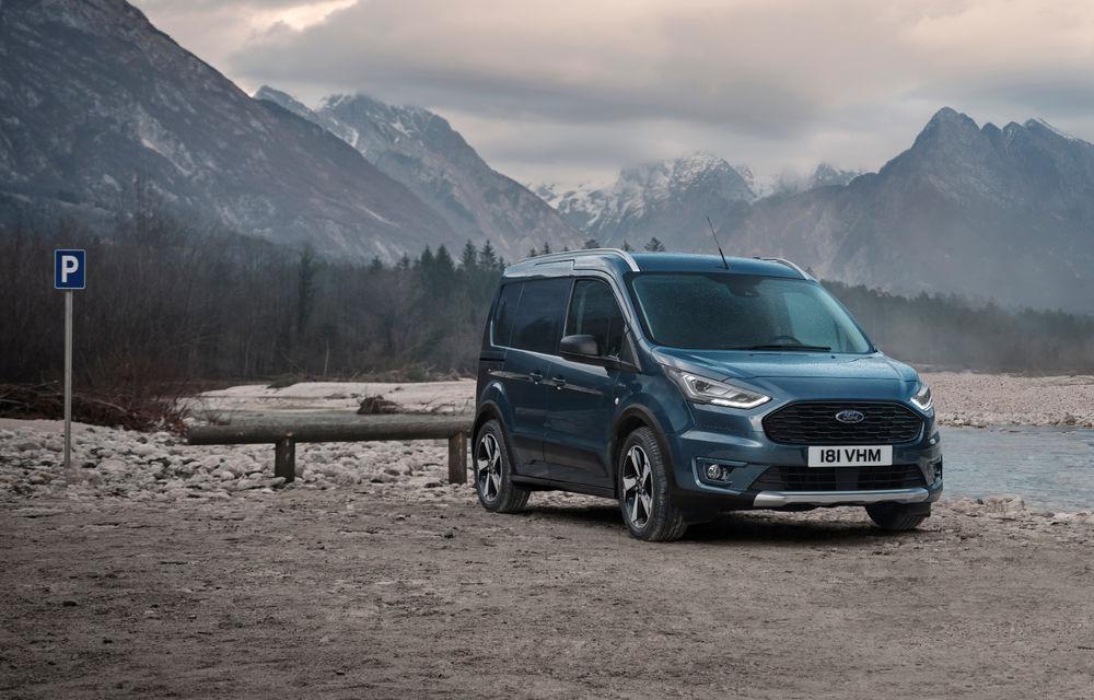Ford Tourneo Connect și Transit Connect primesc versiune de echipare Active: gardă la sol mai ridicată și bare de protecție îmbunătățite - Poza 6