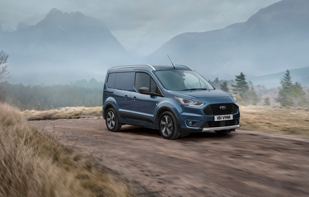 Ford Tourneo Connect și Transit Connect primesc versiune de echipare Active: gardă la sol mai ridicată și bare de protecție îmbunătățite - Poza 5