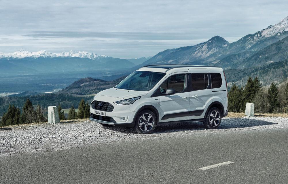 Ford Tourneo Connect și Transit Connect primesc versiune de echipare Active: gardă la sol mai ridicată și bare de protecție îmbunătățite - Poza 3