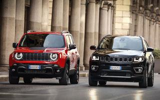 Detalii despre versiunile plug-in hybrid pentru Jeep Renegade și Compass: SUV-urile au până la 240 CP și autonomie electrică de 50 de kilometri