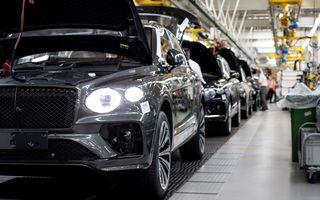 Bentley a început producția lui Bentayga facelift: uzina din Crewe lucrează la capacitate maximă