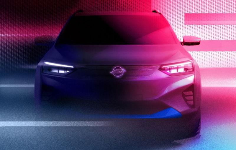SsangYong publică primele teasere cu versiunea electrică a lui Korando: prezentarea oficială va avea loc în 2021 - Poza 1