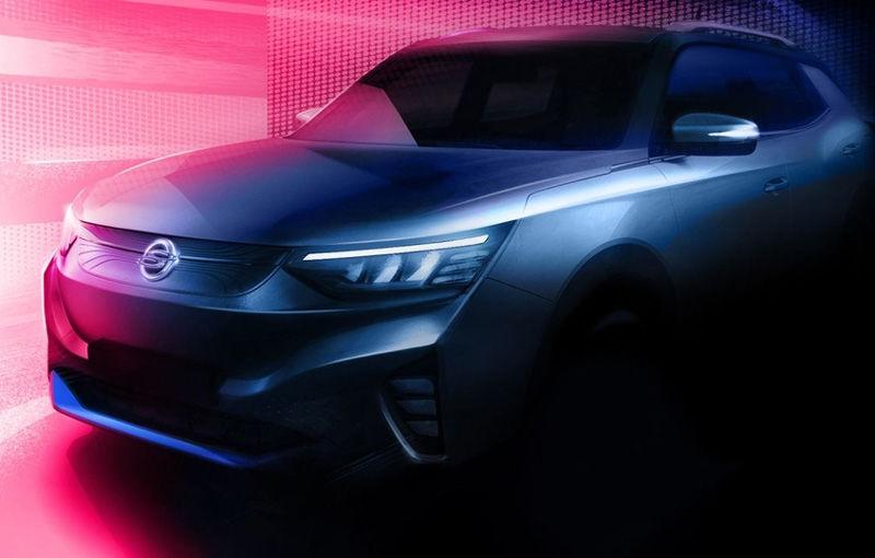 SsangYong publică primele teasere cu versiunea electrică a lui Korando: prezentarea oficială va avea loc în 2021 - Poza 2