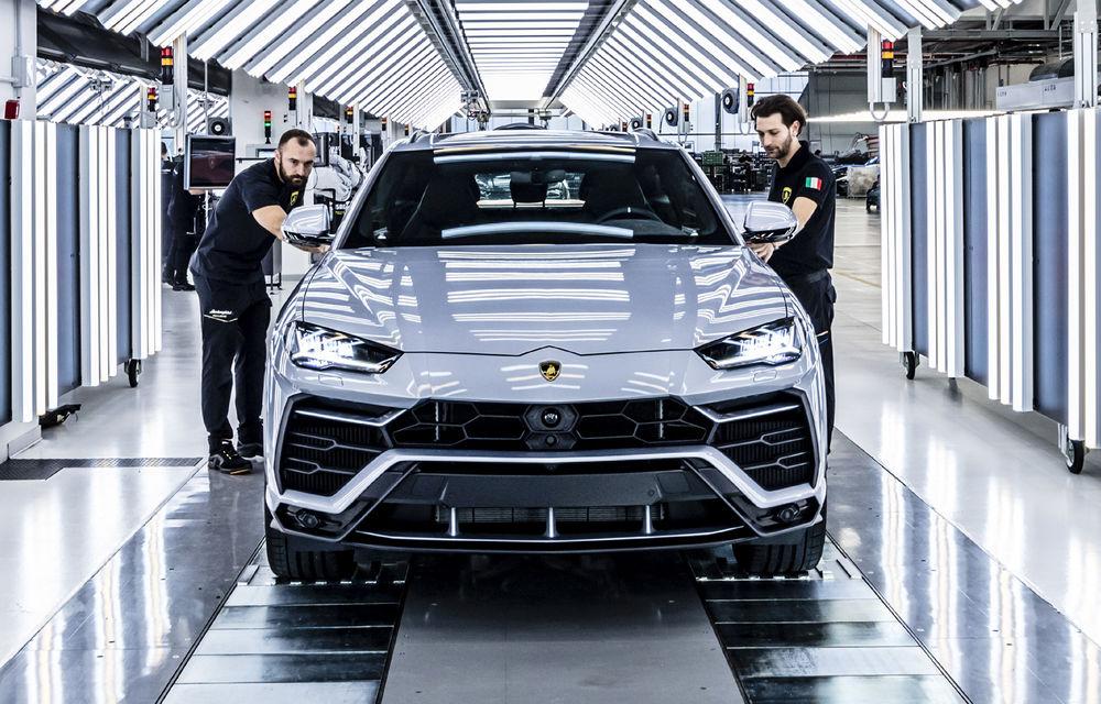 Sărbătoare la Lamborghini: SUV-ul Urus a atins pragul de 10.000 de unități produse - Poza 4