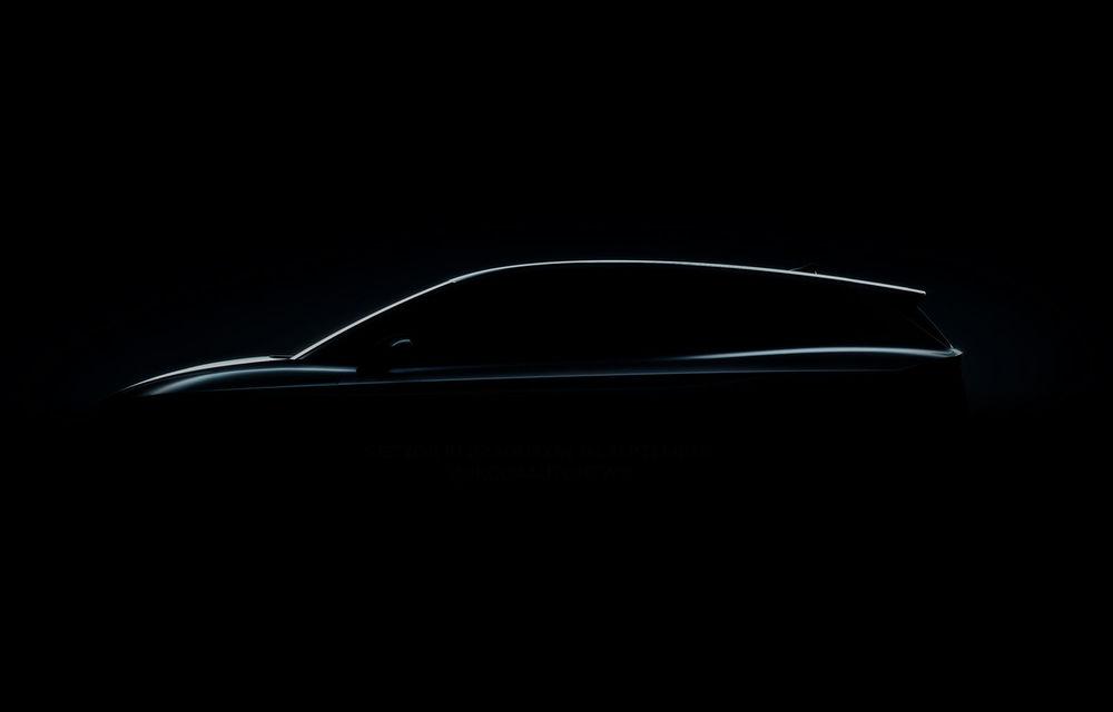 Prima imagine teaser cu viitorul Skoda Enyaq iV: SUV-ul electric cu autonomie de până la 500 de kilometri va fi prezentat în 1 septembrie - Poza 1