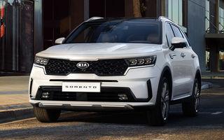 Prețuri pentru noua generație Kia Sorento: SUV-ul producătorului asiatic pornește de la aproape 42.800 de euro