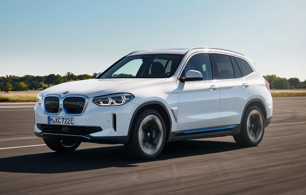 Prețuri BMW iX3 în România: SUV-ul electric pleacă de la 67.600 de euro, iar listele de precomenzi se deschid în septembrie - Poza 1