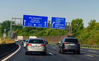 Germania vrea să propună o taxă pentru circulația pe autostrăzi în toate statele Uniunii Europene