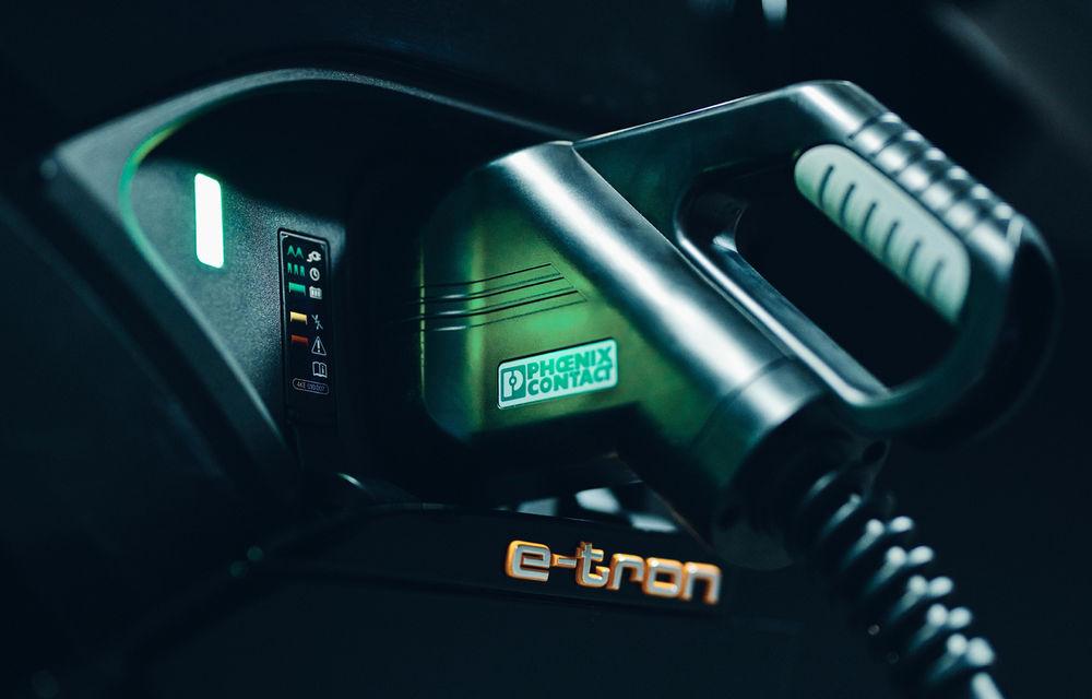 Experiment cu e-tron: Audi dezvoltă o tehnologie prin care mașinile electrice să stocheze și să returneze în rețea energie electrică - Poza 5