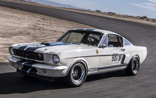 Cel mai scump Mustang din lume: Ford Shelby Mustang GT350R, vândut la licitație pentru 3.85 milioane de dolari